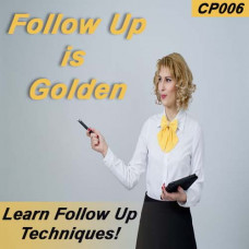 Follow Up is Golden (After the Event) CP006